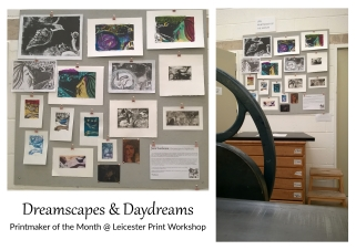 Printmaker of the Month at Leicester Print Workshop