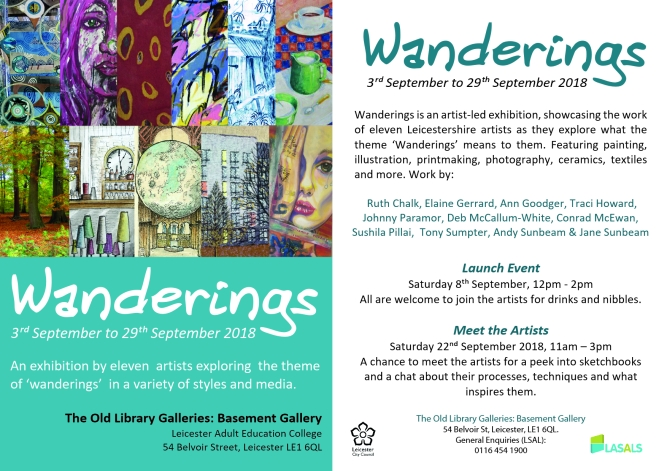 Wanderings Flyer together